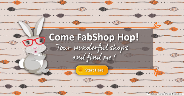 Come FabShop Hop! Tour wonderful shops and find me! ~bunny