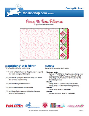 Coming Up Roses Pillowcase