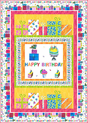 Happy Birthday Quilt