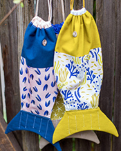 Drawstring Fish Bag