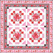 Hearts of Love (Quilt 1)