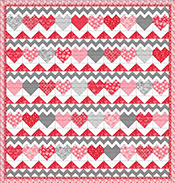 Hugs & Kisses (Quilt 2)