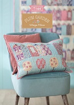 Plum Garden Village Pillow