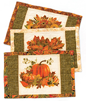 Reversible Quilted Placemat
