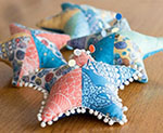 Sea Star Pincushions