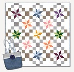 Starlight Paths Quilt and Tote